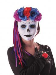 Dia de los Muertos haarband met linten