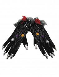 Dia de los Muertos handschoenen