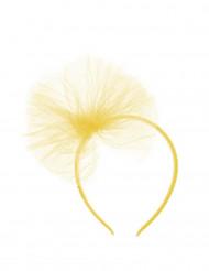 Haarband met gele tule kinderen