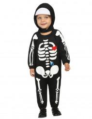 Schattig skelet kostuum voor baby