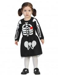 Schattig skelet kostuum voor meisjes