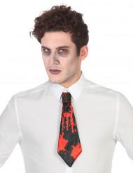Bloederige stropdas voor volwassenen