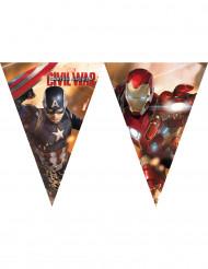 Plastic Captain America Civil War™ vlaggenslinger