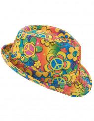 Hippie borsalino hoed voor volwassenen