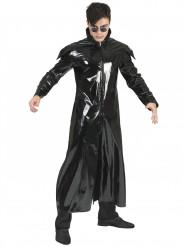 Lange zwarte jas voor volwassenen