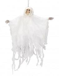 Wit skelet ophangdecoratie