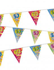 60 jaar verjaardag vlaggenslinger
