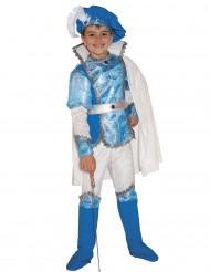 Luxe blauw prinsen kostuum voor jongens