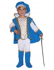 Blauw charming prins kostuum voor kinderen