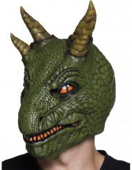 Latex dinosaurus masker voor volwassenen