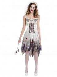 Bebloed bruid kostuum voor vrouwen