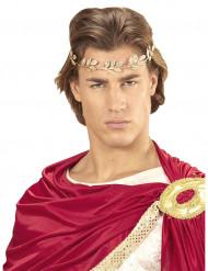 Goudkleurige Romeinse laurierkrans voor volwassenen