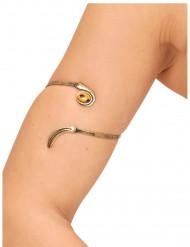 Goudkleurige veer armband voor volwassenen