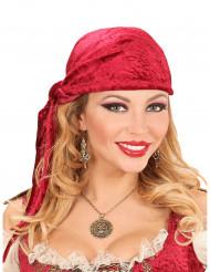 Piraten medaillon ketting voor volwassenen