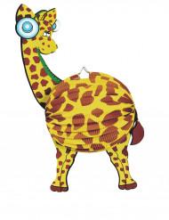 Papieren giraffe lampion