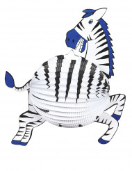 Zebra lantaarn 38 cm