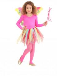 Regenboog prinses fee kostuum voor kinderen