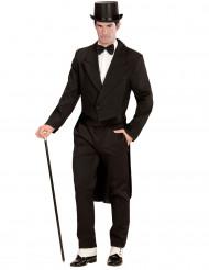 Zwarte slipjas voor volwassenen
