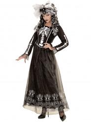 Skelet met rok kostuum voor vrouwen