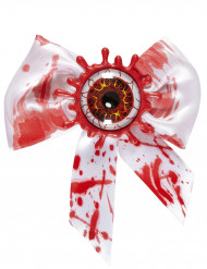 Bebloede strik met oog