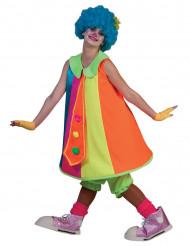 Fluo clown jurk voor vrouwen
