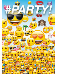 Emoji™ Party uitnodigingen