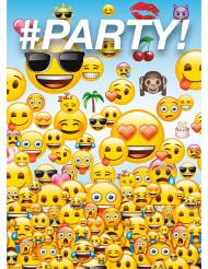 Emoji™ Party uitnodigingen