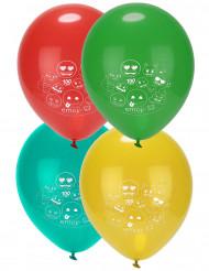 8 Emoji™ ballonnen