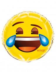 Tranen van het lachen Emoji™ aluminium ballon
