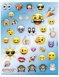 136 Emoji™ stickers