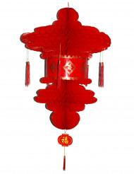 Rode Chinese lantaarn 80 cm