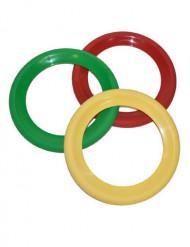 3 clown jongleer ringen