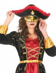 Venetiaans piraten masker voor vrouwen