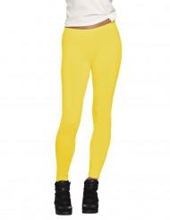 Gele legging voor volwassenen