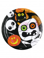 8 Kleine Monsters Halloween borden