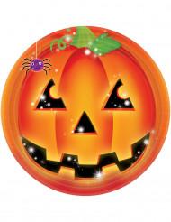 8 Halloween pompoenborden