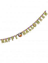 Pompoen Happy Halloween letterslinger