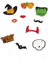 Halloween photo booth set