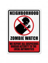 Zombie muurdecoratie