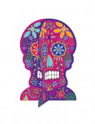 Día de los Muertos schedel tafeldecoratie