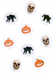 Papieren Halloween tafelconfetti