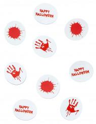 Bloederige tafelconfetti