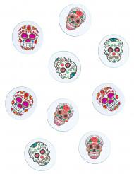 Papieren Dia de los Muertos tafeldecoraties