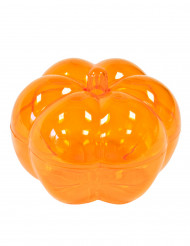 Oranje pompoen snoeppot