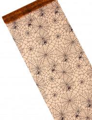 Tafelloper spinnenweb print