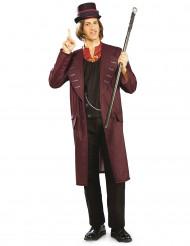 Willy Wonka - Sjakie en de chocoladefabriek™ kostuum voor volwassenen