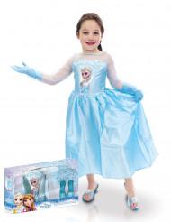 Elsa Frozen™ jurk voor meisjes met verpakking