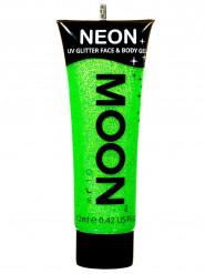 UV groene glittergel voor lichaam en gezicht