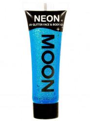 Blauwe UV glittergel voor lichaam en gezicht