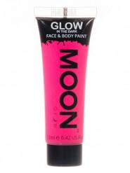 Fluo roze fosforescerende gel voor lichaam en gezicht